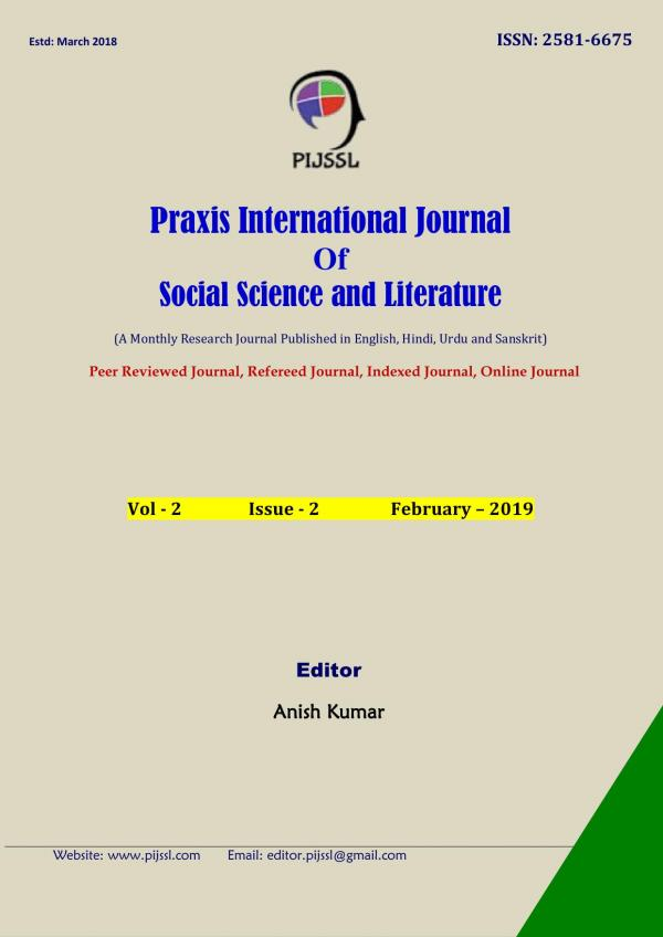 Praxis International Journal Of Social Science And