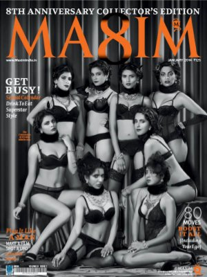 Maxim India January 2014 - Read on ipad, iphone, smart phone and tablets.