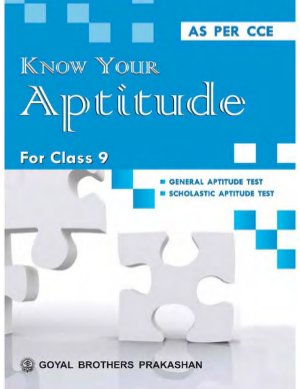 Know your aptitude Book 9 - Read on ipad, iphone, smart phone and tablets