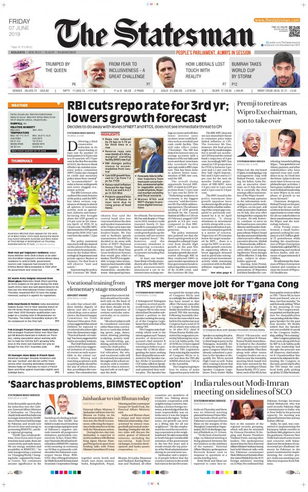 Kolkata - The Statesman e-newspaper in English by The Statesman
