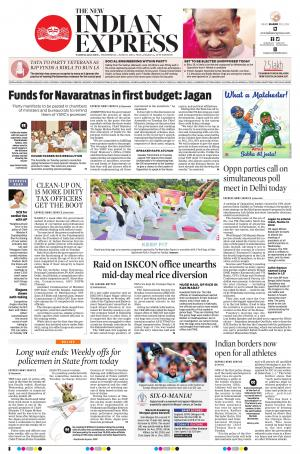 New indian express epaper bangalore edition