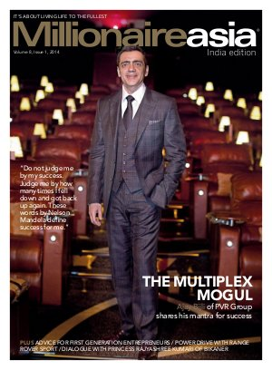 Special cover story on The Multiplex Mogul, Ajay Bijli of PVR Group