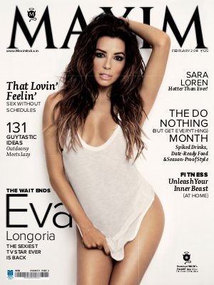 Maxim February Issue 2014 - Read on ipad, iphone, smart phone and tablets.