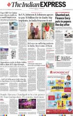 Chandigarh e-newspaper in English by Indian Express