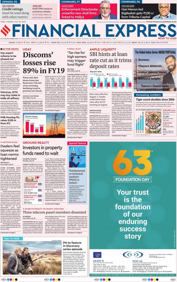 Pune e-newspaper in English by Financial Express