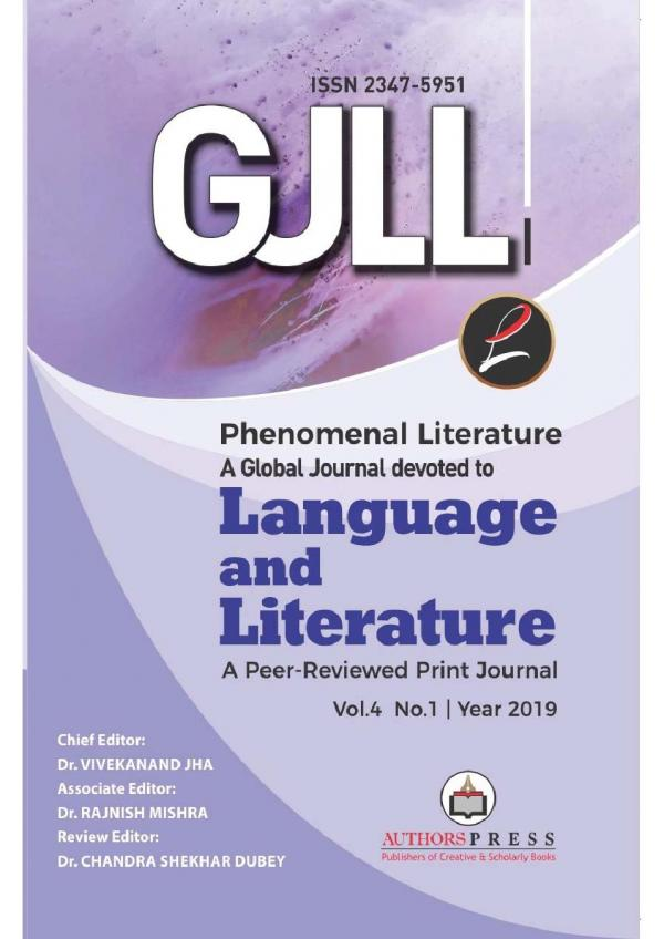 Phenomenal Literature: A Global Journal Devoted To Language