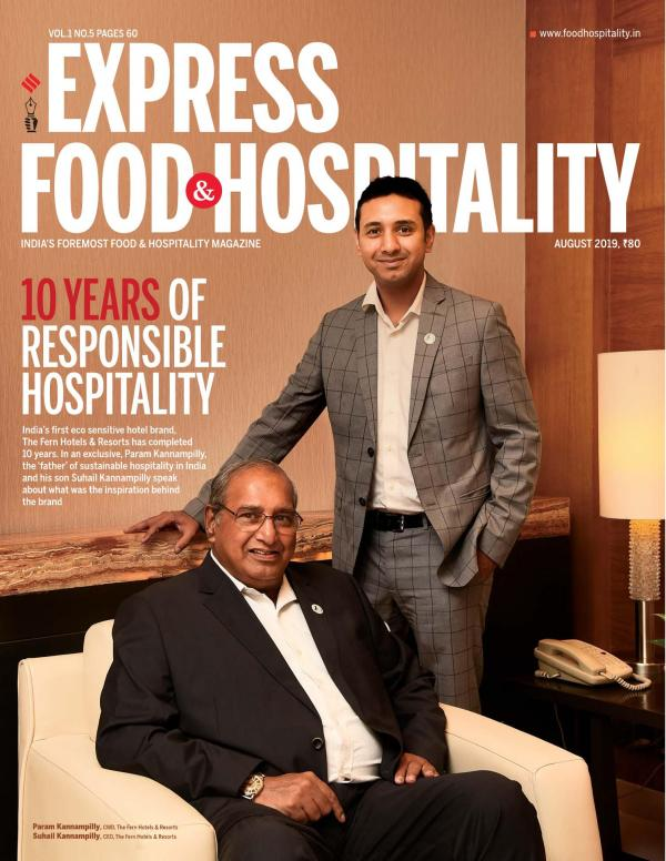 Express Hospitality e-magazine in English by Financial Express