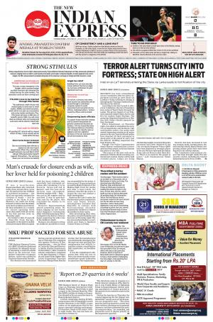 Express Publications The New Indian Express-Coimbatore, Sat