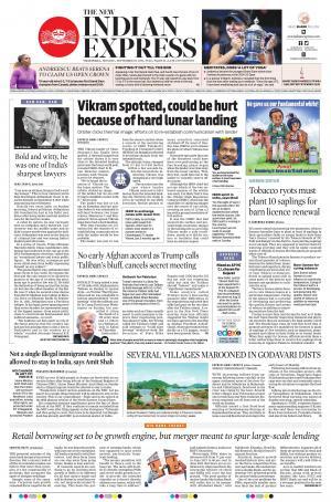 Express Publications The New Indian Express-Vijayawada, Mon