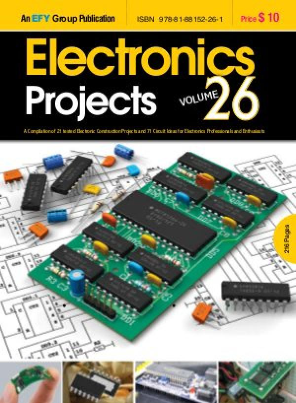 Electronics Projects Vol 26 e-book in English by EFY