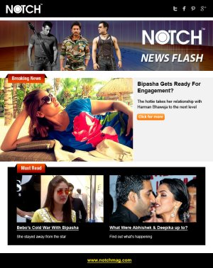 Notch News Letter March 5 - Read on ipad, iphone, smart phone and tablets.
