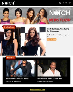 NOTCH - India's First Digital Lifestyle Magazine - Read on ipad, iphone, smart phone and tablets