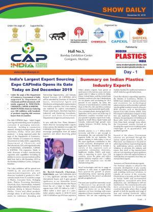 Modern Plastics India Show Daily