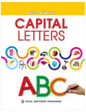 Clean and write Capital Letter - Read on ipad, iphone, smart phone and tablets