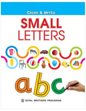 Clean and write Small Letter