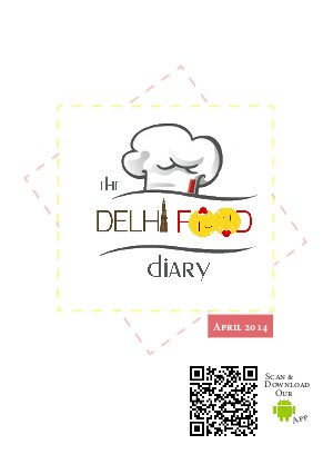 The 'Delhi Food' Diary - Read on ipad, iphone, smart phone and tablets.