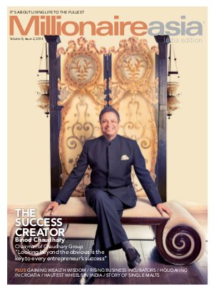 THE SUCCESS CREATOR Binod Chaudhary