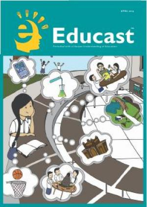 Educast April'14 - Read on ipad, iphone, smart phone and tablets.