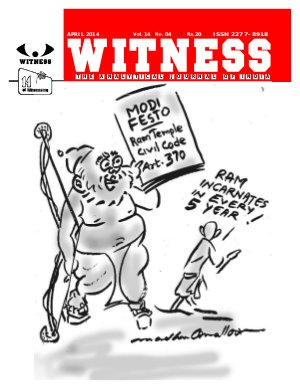WITNESS-April 2014 - Read on ipad, iphone, smart phone and tablets.