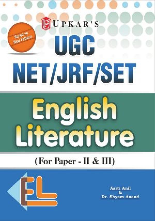 UGC NET/JRF/SET English Literature (Paper - II & III)