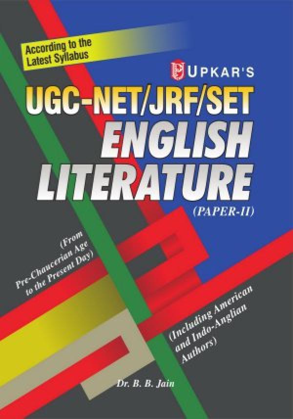 UGC-NET/JRF/SET English Litt. (Paper II)