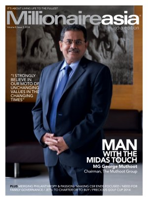 Man with the minds touch MG George Muthoot