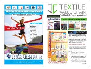 TECH TEXIL SHOW 2013 - Read on ipad, iphone, smart phone and tablets.