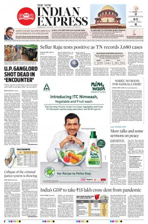 The New Indian Express-Dharmapuri