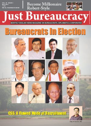 Just Bureaucracy, May 2014