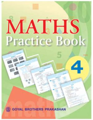 Maths Practice Book with Mental Mathematics Book 4 - Read on ipad, iphone, smart phone and tablets