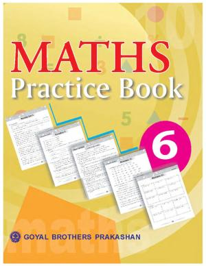 Maths Practice Book with Mental Mathematics Book 6