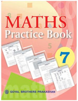 Maths Practice Book with Mental Mathematics Book 7 - Read on ipad, iphone, smart phone and tablets