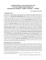 Prabandhan: Indian Journal of Management