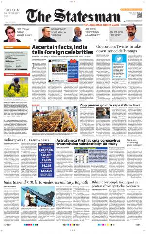 Siliguri - The Statesman