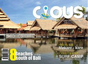 Cious Bali | 8 Beaches in the south of Bali, Ed July 14 Vol. 19