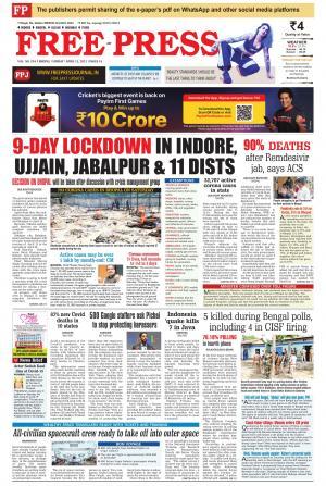 Free Press - Bhopal Edition