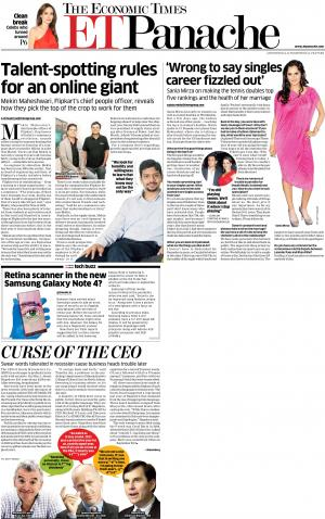 The Economic Times - ET Panache - Read on ipad, iphone, smart phone and tablets.