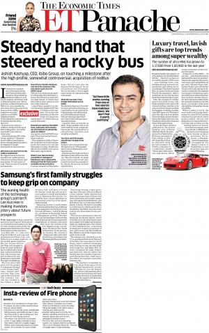 ET Panache 24 July 2014 - Read on ipad, iphone, smart phone and tablets.