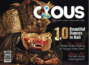 Cious Bali | 10 Beautiful Dances in Bali,Ed August 14 Vol.20