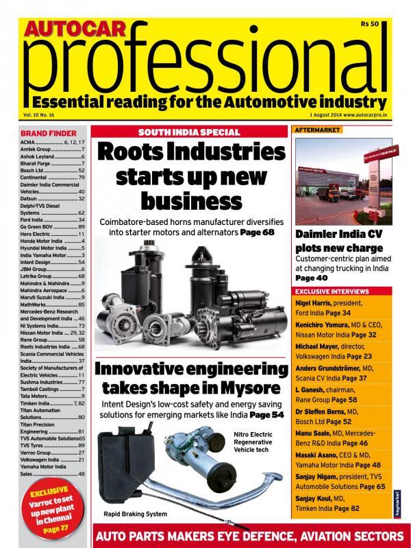 Autocar Professional e-magazine in English by Haymarket SAC