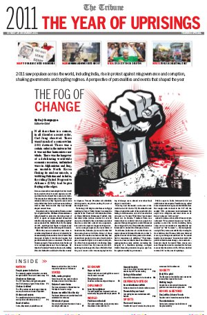 2011 - The Year of Uprisings
