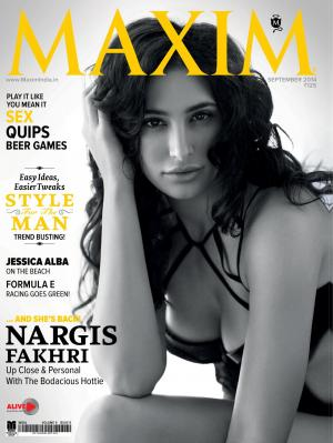 MAXIM INDIA SEPTEMBER ISSUE 2014 - Read on ipad, iphone, smart phone and tablets.