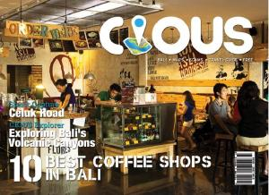 Cious Bali 10 BEST COFFEE SHOPS IN BALI, Ed October 14 Vol.22