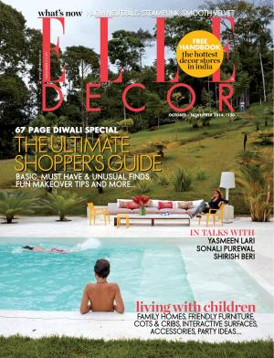 Elle Decor October - November 2014