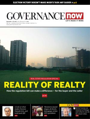 Governancenow Volume 5 issue 19 - Read on ipad, iphone, smart phone and tablets.