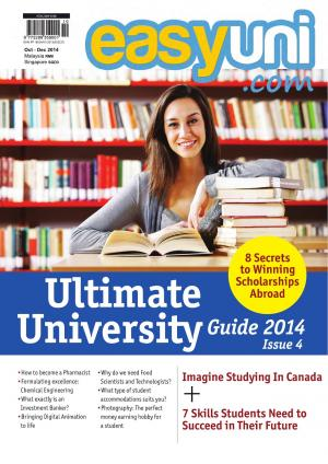 easyuni Ultimate University Guide 2014 - Read on ipad, iphone, smart phone and tablets