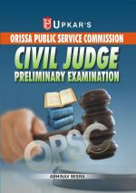 Orissa PSC Civil Judge Preliminary Exam.