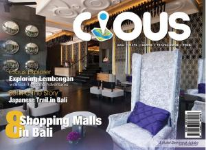 Cious Bali 8 SHOPPING MALL IN BALI, Ed December 14 Vol.24