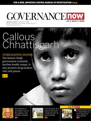Governancenow Volume 5 issue 21 - Read on ipad, iphone, smart phone and tablets.