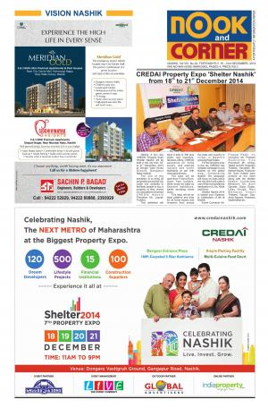NOOK AND CORNER, 16 - 31st December, 2014 - Read on ipad, iphone, smart phone and tablets.